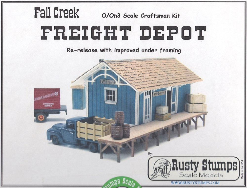 medium resolution of some time ago i bought this rusty stumps kit because i liked the look and the size of it i had already built a passenger freight depot for silverton that