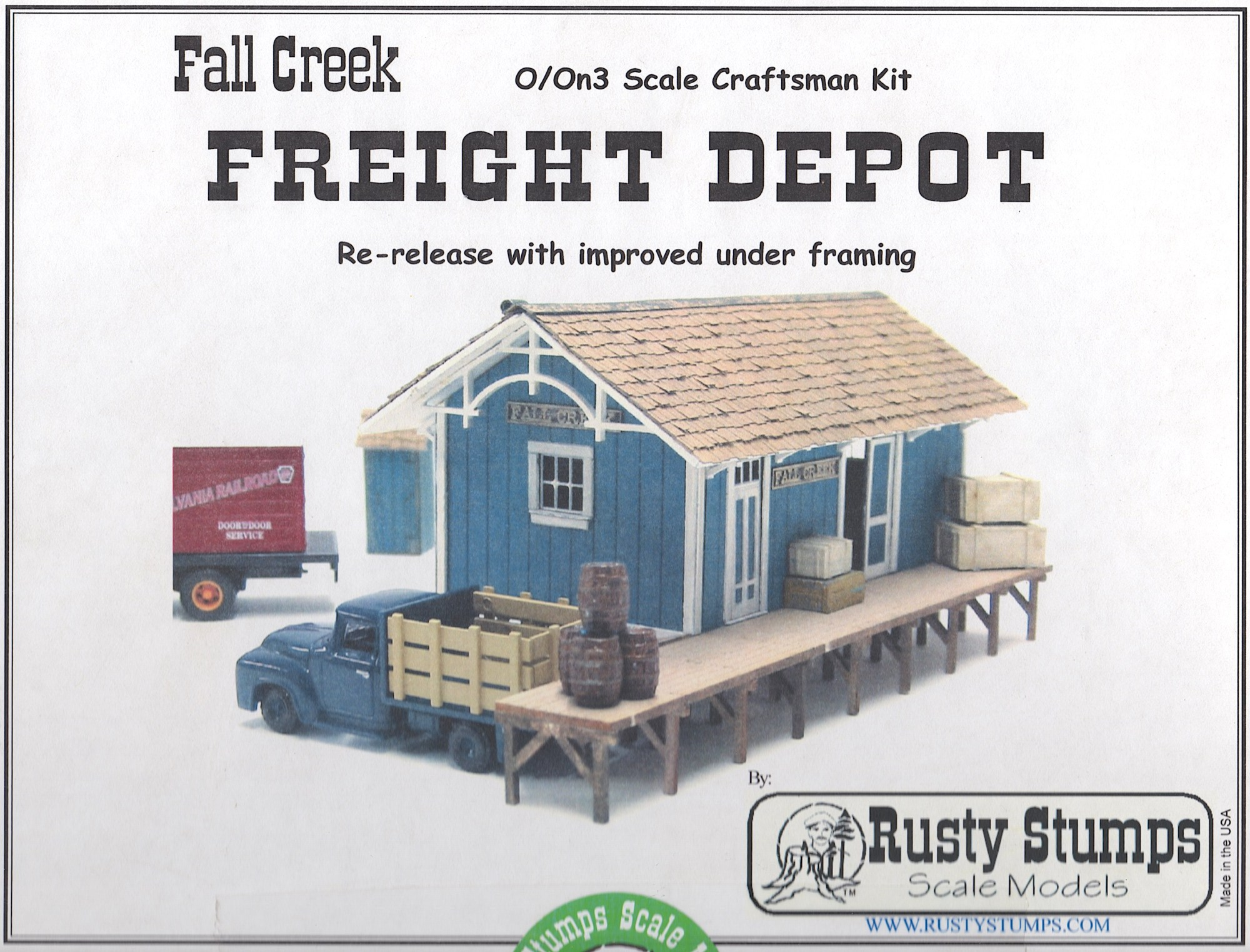 hight resolution of some time ago i bought this rusty stumps kit because i liked the look and the size of it i had already built a passenger freight depot for silverton that