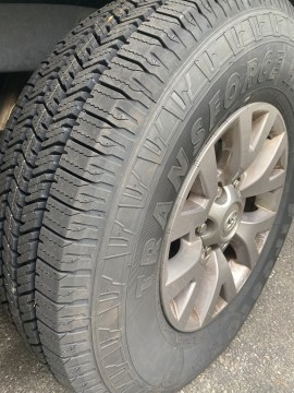 Tires for the Tacoma
