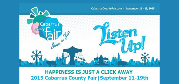 Visit the Cabarrus County Fair website for information on discount tickets