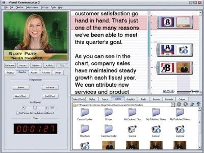 Serious Magic Visual Communicator Interface