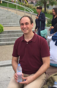 Photo of Mark Schaefer in Evian, France