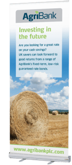 Agribank Pop-up Banner design