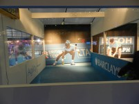 Barclays ATP Exhibition Stand design - active area