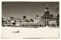 Nostalgic View Of Hotel Del Coronado Mark Shimazu
