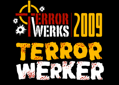 TerrorWerks 2009 Tee Shirt Designs