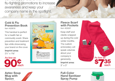 Cold and Flu Season Promotion