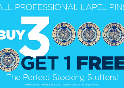 Lapel Pin BOGO Promotion