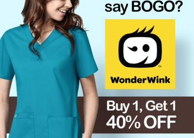 WonderWink BOGO Promotion