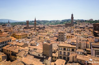 Views from the Campanile, Florence, Tuscany, Italy