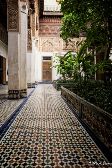 Bahia Palace, Marrakech, Morocco, North Africa