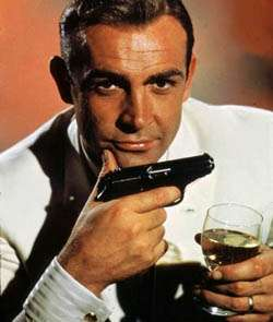 Sean Connery's lips, pistol and other oral gratifcation