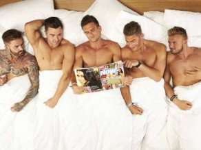 Geordie Shore slumber party