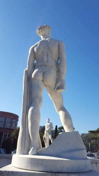 Giant buttocks