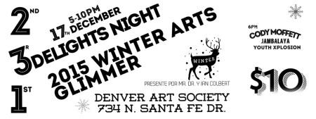 3Delights Night 2015 Winter Arts Glimmer