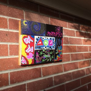 Tiles by Lauren Dallas, Angela DaVila, and myself.