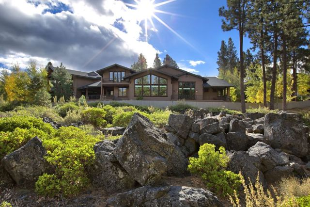 Magnificent, Waterfront Modern Lodge House Plan