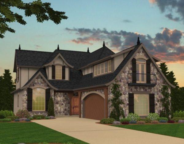 Modern Tudor Style House Plans Custom Tudor Home Designs