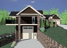 Vino Grifano Mountain Lodge House Plan Mark Stewart