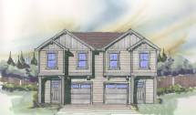 Notable Twin House Plan Built In City Of Portland