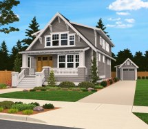 Sears Family House Plan Built In City Of Portland