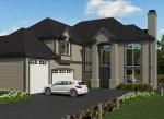 m-3044T 4 House Plan