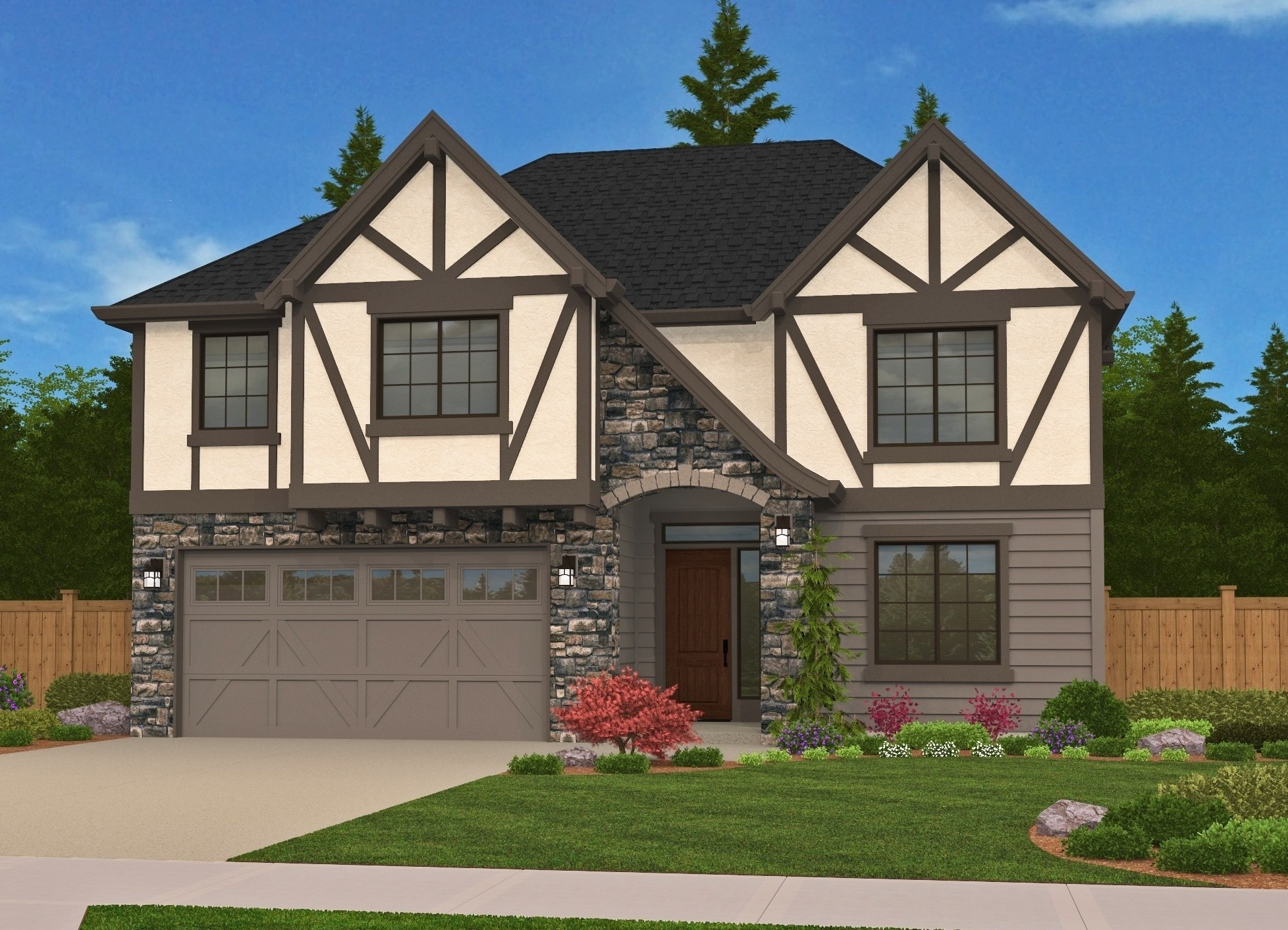 Bavaria | Cottage Style House Plans by Mark Stewart