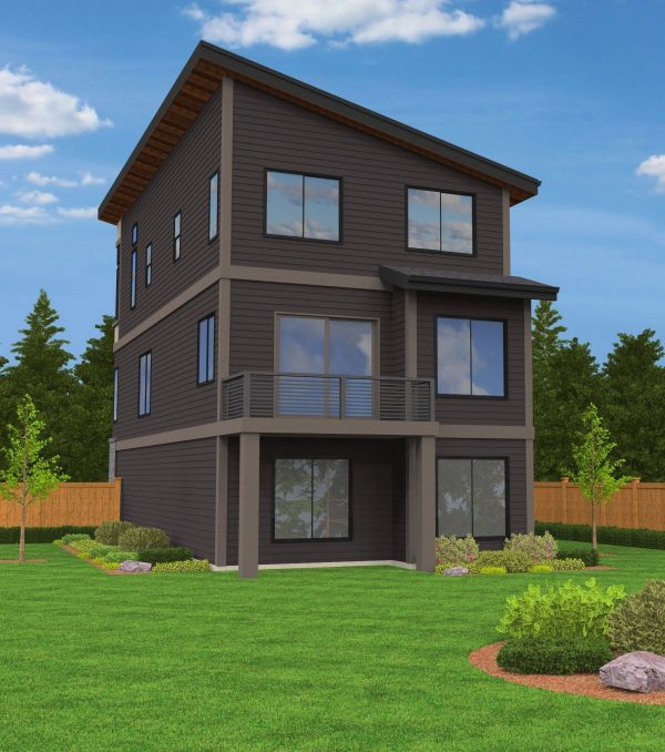 Madison House Plan Built In City Of Portland