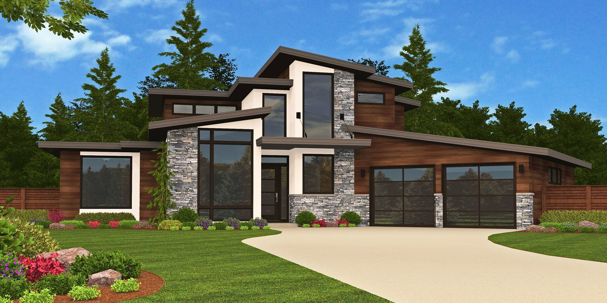Sting X16A House Plan  Modern House Plans