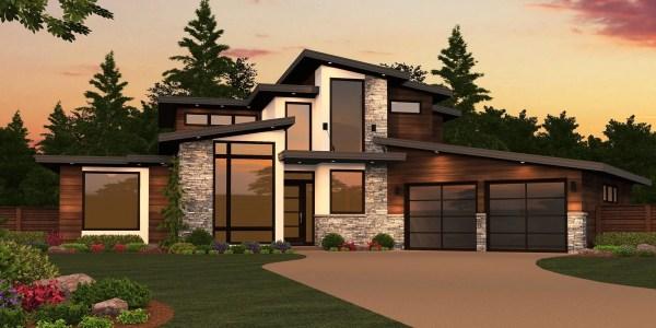 Sting X-16a House Plan Modern Plans