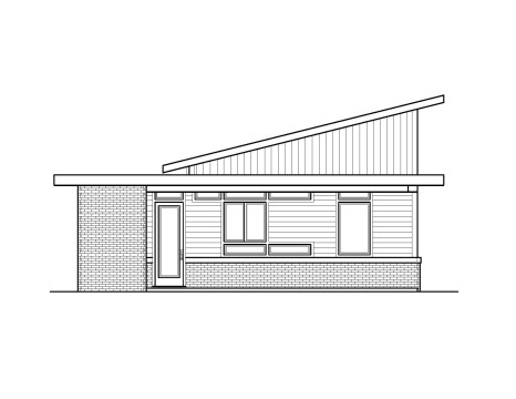 Mercury Small House Plan Modern Shed Roof Home Design With Photos