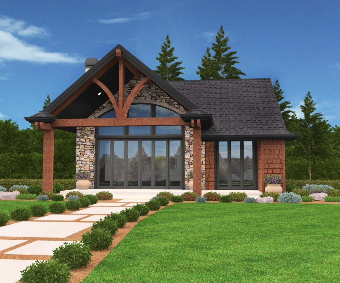 Jupiter Cabin House Plan By Mark Stewart Home Design