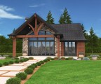 Jupiter Cabin House Plan