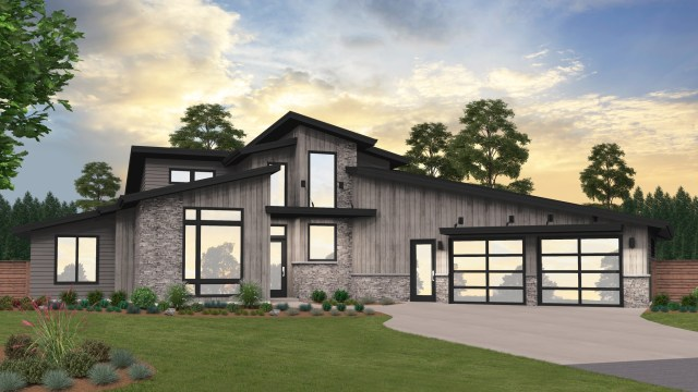 Modern House Plans & Home Designs, Shop Floor Plans with Photos