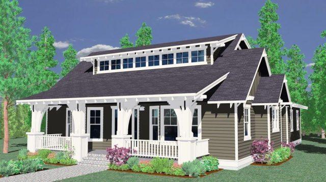 Laursen Cottage Craftsman House Plans