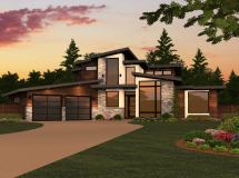 Dallas House Plan 2 Story Modern Design Plans With