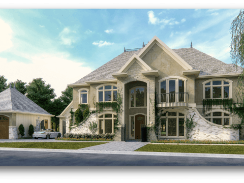 Old English House Plans | Old English Style Home Designs