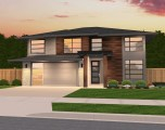 Swan Modern Hip Roof Home