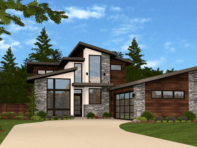 Modern House Plans 6