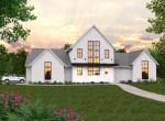 Farm House Plan Disney X-19-A