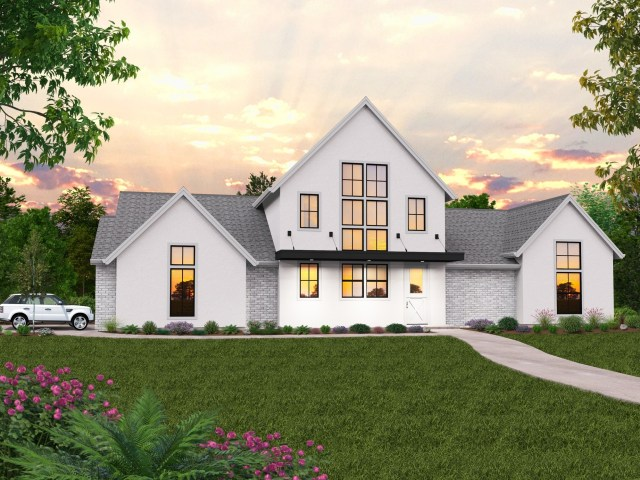 Modern Farmhouse Plans | Rustic Farmhouse Designs & Home Plans