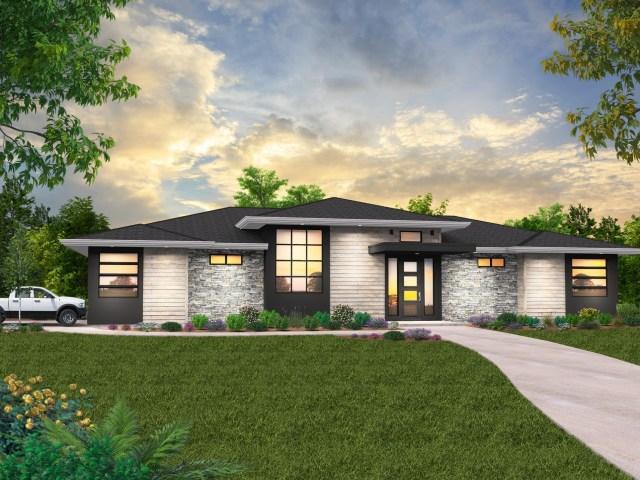 Northwest Modern House Plans   Modern Home Designs & Floor Plans