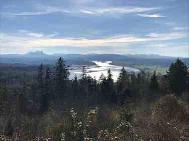 Looking south from Coxcomb Hill, Astoria, Oregon