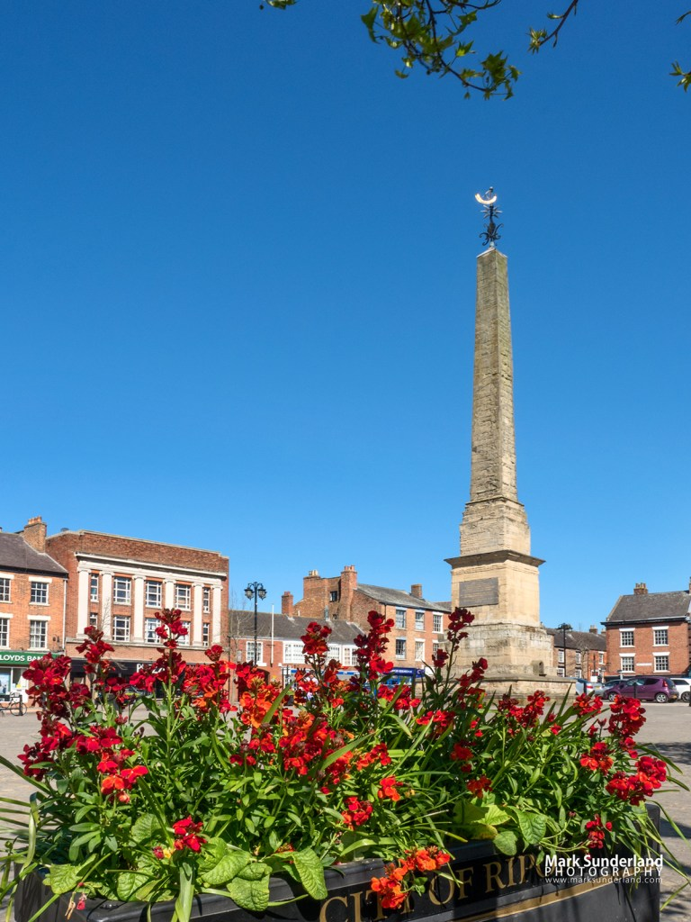 Obelisk in the Market Place at Ripon, North Yorkshire
