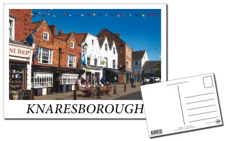 Knaresborough Market Place Postcard