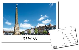 Ripon Market Place Postcard