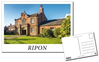 Ripon Workhouse Museum Postcard