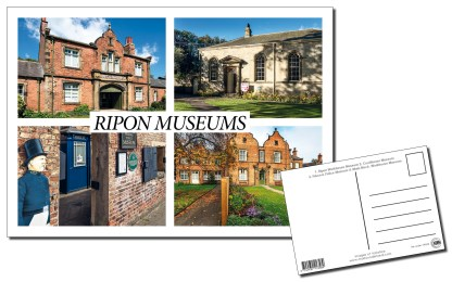 Ripon Museums Multi-view Postcard