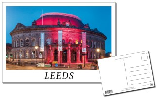 Leeds Corn Exchange Postcard