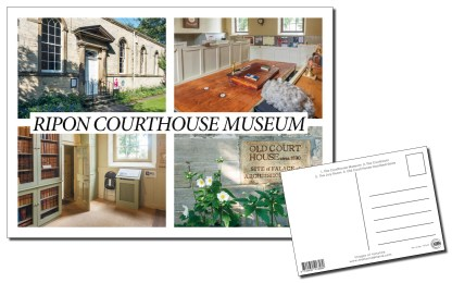 Ripon Courthouse Museum Multiview Postcard